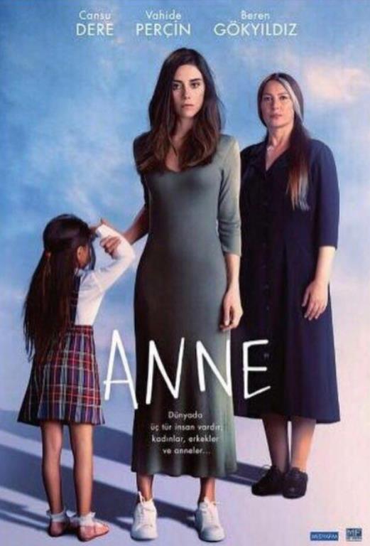 Anne    Japon yapımı 'Mother' dizisinden uyarlanan ve genel takipçi kitlesini kadınlardan oluşturan dizi listenin üstlerinde yer almaya devam ediyor.
