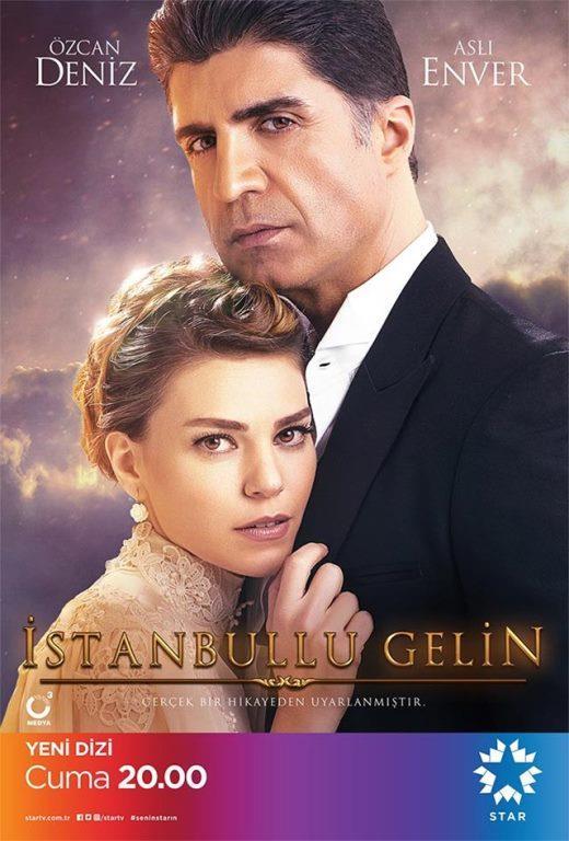 İstanbullu Gelin    Özcan Deniz'in yeni dizisi İstanbullu Gelin, Savaşçı dizisi gibi yayın hayatına yeni başlamasına rağmen listeyi zorlamaya devam ediyor.