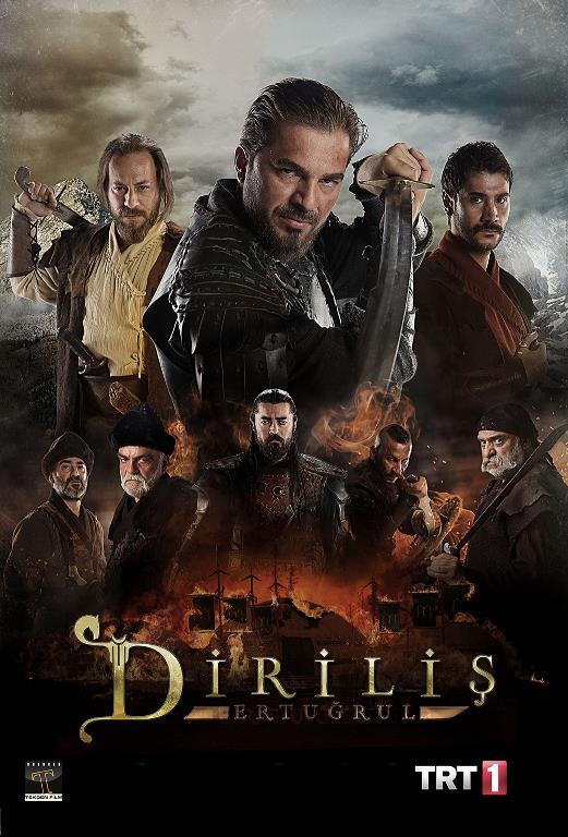 Diriliş Ertuğrul    Reyting rekorları kıran TRT'nin dizisi ülkenin en çok izlenen dizisi olmasının yanı sıra en çok kazananlar listesinin başında yer alıyor.