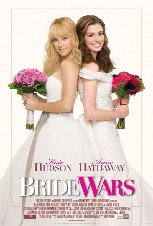 GELİNLERİN SAVAŞI (BRIDE WARS)   Çok yakın arkadaş olan Liv (Kate Hudson) ve Emma (Anne Hathaway), çocukluklarından beri evlenip gelin olmayı hayal ederler. İkisi de New York'un en popüler düğün mekanı Plaza Otel'de evlenmek ister. 26 yaşına geldiklerinde arka arkaya her ikisi de evlenme teklifi alır. Evlilik danışmanlığı ofisi bir hata sonucunda aynı güne tarih verir. Bundan sonra olaylar karışır. Kimin Plaza Otel'de evleneceği savaşı kimin kazanacağına bağlıdır.