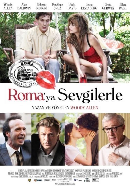 ROMA'YA SEVGİLERLE (TO ROME WITH LOVE)   Beth (Kristen Bell), aşkta şansı yolunda gitmeyen bir müze görevlisidir. Kardeşinin düğünü için Roma'ya gider ve Nick (Josh Duhamel) ile tanışır. Depresif olduğu bir gün dilek kuyusuna atılan paraları çıkartır ve bir nevi lanetlenir. Çıkarttığı paralardan biri de Nick'in attığı dilek parasıdır. Sonrasında Beth ile Nick yakınlaşırlar fakat bir sorun vardır. Beth, lanet yüzünden Nick'in aşkının gerçek olduğundan emin değildir.