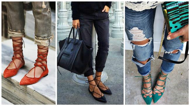 Trend: Lace Up Babet - 1