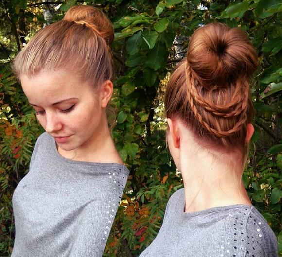İşte son yılların en güzel saç trendlerinden olan minik örgülerin diğer modelleri...