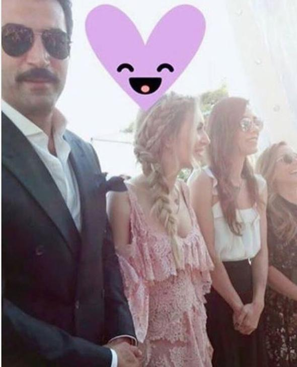 Sinem Kobal ile eşi Kenan İmirzalıoğlu gece boyunca birbirlerinden ayrılmadılar...