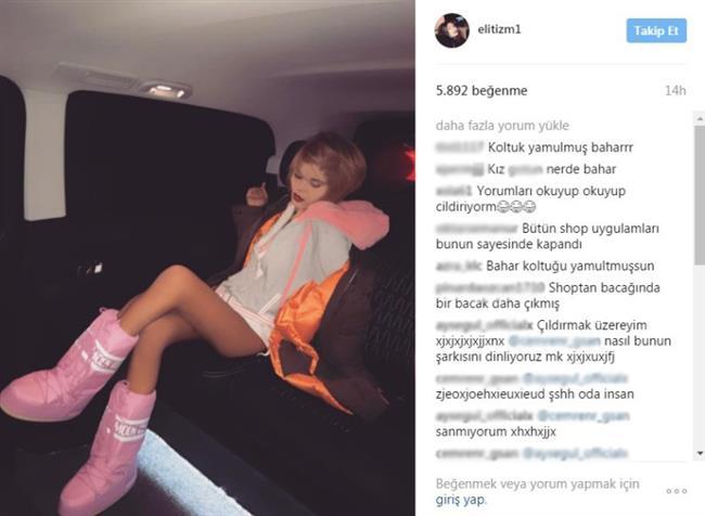 Candan kızı bu sıralar sosyal medya üzerinden paylaştığı fotoğraflara uyguladığı photoshop ile gündemde. Fotoğraflara dikkatli bakıldığında bacaklarına yaptığı shop yüzünden çok garip görüntüler ortaya çıkıyor.