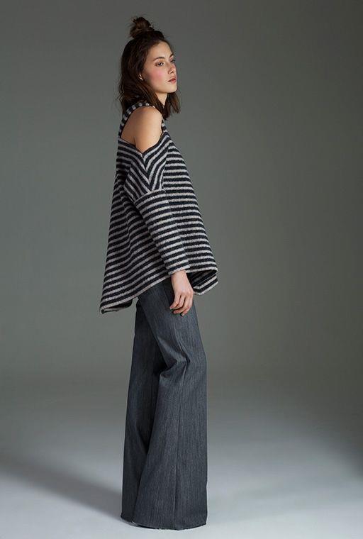 Bunun için en ideal yöntem ise bol paça pantolonlar. Hem tarz, hem rahat, hem de vücudunuzu dengeleyecek.