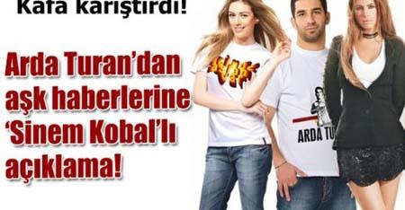Fakat Arda Turan bu aşkı yalanladı.