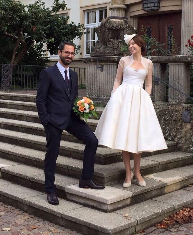 Selma Ergeç - Can Öz  2015 yılında Almanya'da evlendiler.