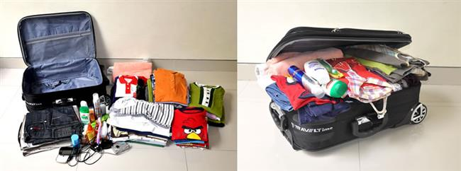 Kıyafetler, ayakkabılar, aksesuarlar, cilt bakım ürünleri… Bu kadar eşyayı tek bir bavula sığdırmak zor olsa gerek.