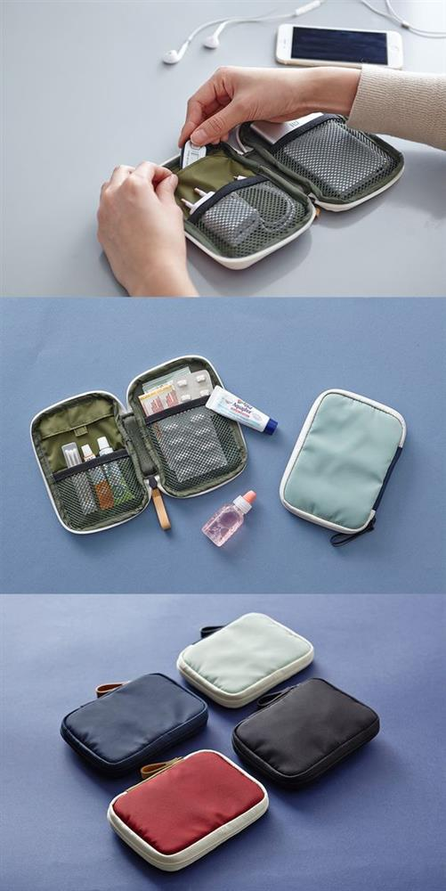 Fermuarlı küçük çanta kullanmak  Kozmetik malzemelerinin yanı sıra, ilaçlarınızı da fermuarlı küçük çantalarla valize yerleştirmek hem onları temiz, hem de bir arada tutar.