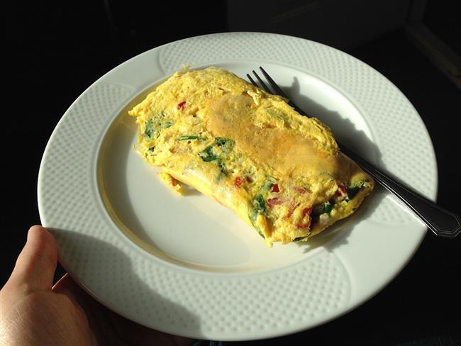 6.Gün   Sahur  Omlet (2 yumurtadan)  Komposto