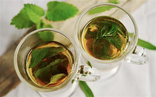Yemekten sonra yeşil çay
