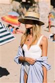 Yazın Yeni Trendi: Hasır Şapkalar - 18