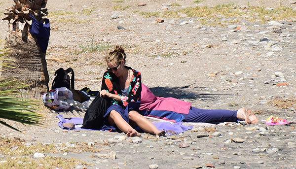 Önceki gün Akyarlar Asbant Beach'teydi.