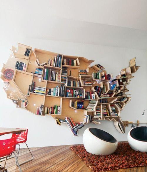Birbirinden farklı bu kitaplık modellerinden fikir alabilir, evinize uyarlayabilirsiniz!