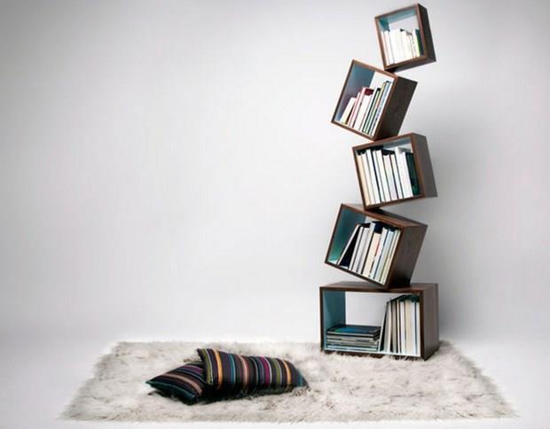 Birbirinden Farklı Kitaplık Tasarımları - 32