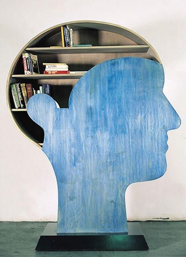 Birbirinden Farklı Kitaplık Tasarımları - 21