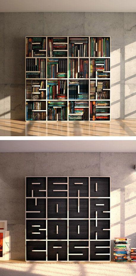 Birbirinden Farklı Kitaplık Tasarımları - 15