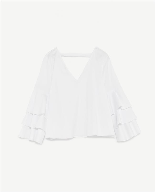 DÜZ BEYAZ BLUZ  Rengarenk giyinmenin güzelliği bir yana ancak hiç biri siyah beyaz bluzlar kadar çok kombinlenilemiyor.
