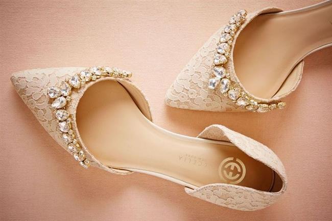 Birbirinden Farklı Gelin Ayakkabısı Modelleri - 14