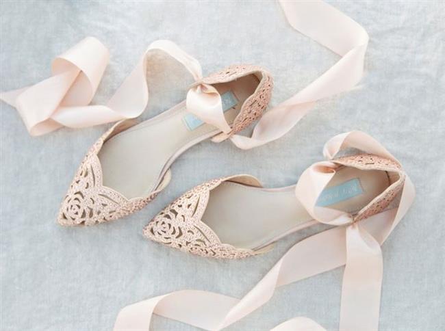 Birbirinden Farklı Gelin Ayakkabısı Modelleri - 21