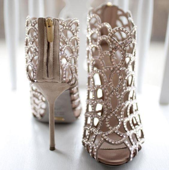 Birbirinden Farklı Gelin Ayakkabısı Modelleri - 22