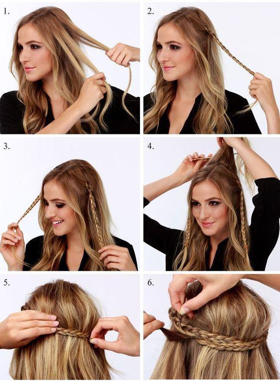Evde Hızlıca Yapılabilecek Saç Modelleri! - 5