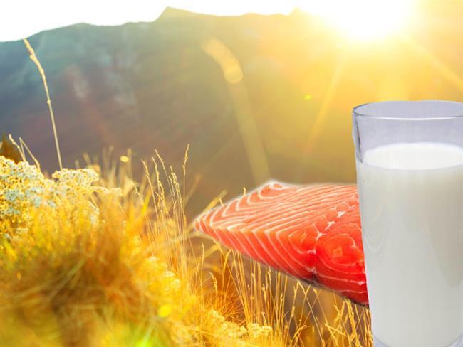 D Vitamini Eksikliğine Somon, Süt Ve Güneş - 1