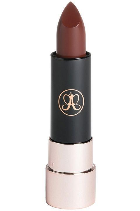 Biraz kırmızı , biraz kahve!  Anastasia Beverly Hills Matte Lipstick in Brandy