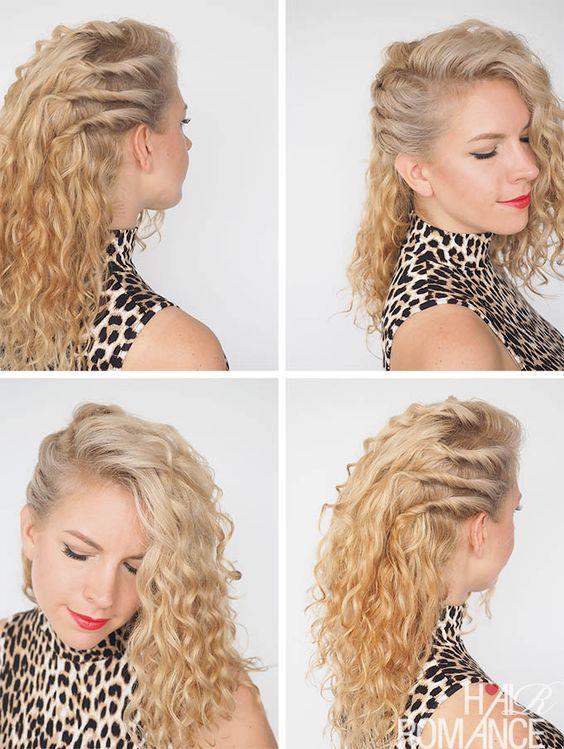 Kıvırcık Saçlılar İçin Saç Modelleri! - 26
