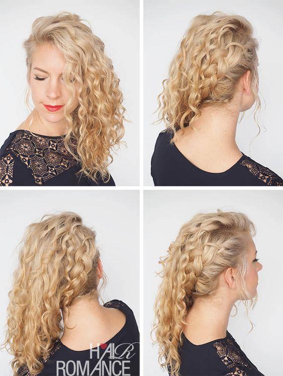 Kıvırcık Saçlılar İçin Saç Modelleri! - 27