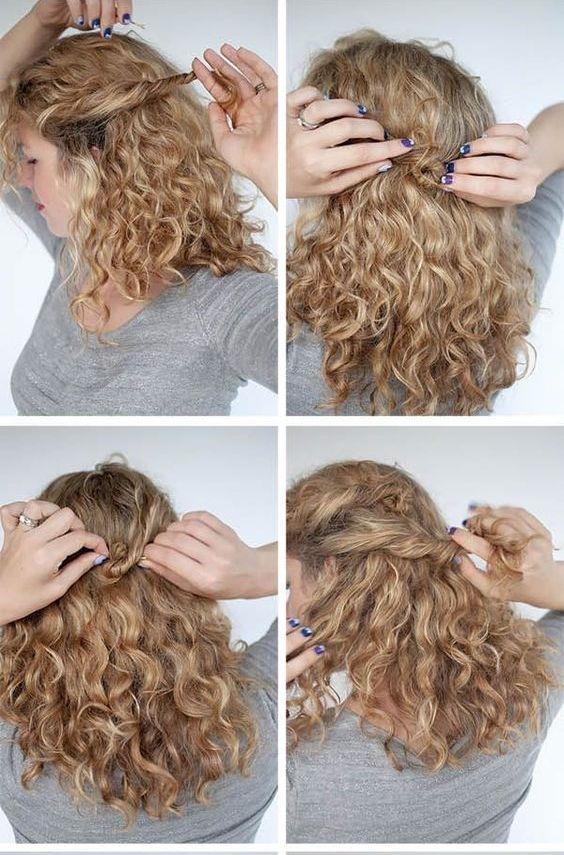 Kıvırcık Saçlılar İçin Saç Modelleri! - 12