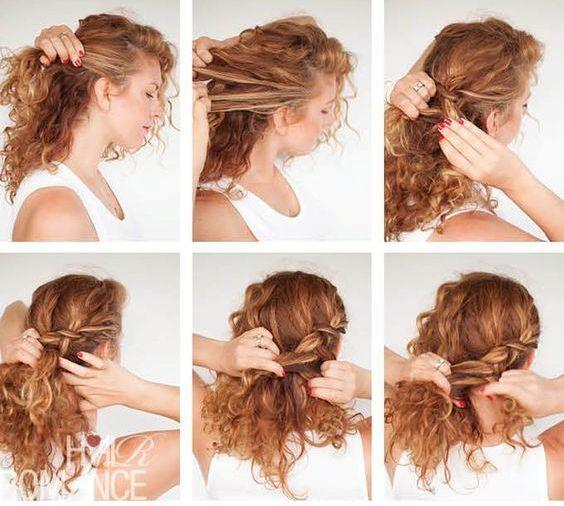 Salaş görünmekten sıkılanlar saçlarını enselerinde toplayan bu modele uygulayabilirler.