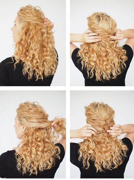 Kıvırcık Saçlılar İçin Saç Modelleri! - 18