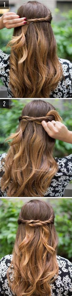 Dalgalı saçlar için diğer saç modeli önerileri ve yapılışları...