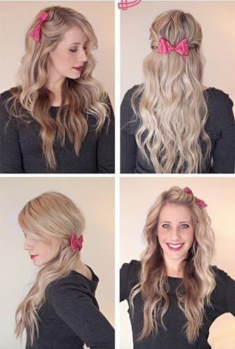Bir saç aksesuarı, dalgalı saçı ne kadar değiştirebilir? Saçı kaç farklı modele sokabilir? İşte cevabı...