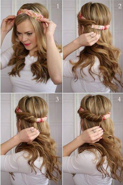 Saçınıza bir bandana geçirin ve saçlarınızı salın, su gibi görüneceğinizden eminiz.