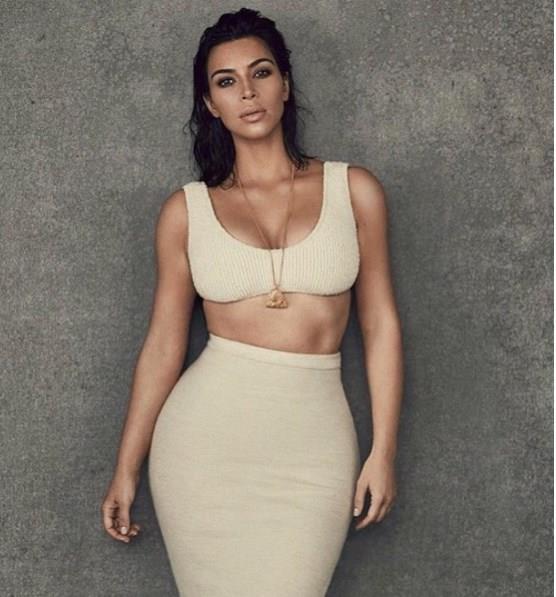 Kim Kardashian'dan Cüretkar Poz - 23