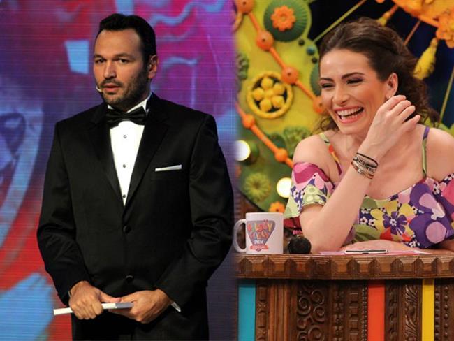 Ali Sunal ve Ezo Sunal kardeşler. Üstelik televizyon dünyasının sevilen sunucuları Kemal Sunal'ın çocukları.