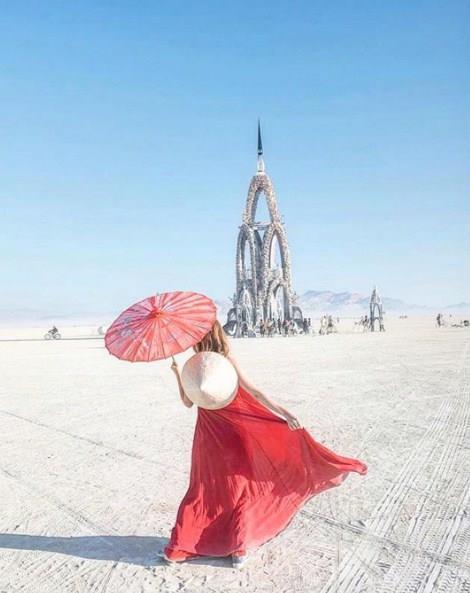 2017 Burning Man Festivali'ne Damga Vuran Stiller - 17