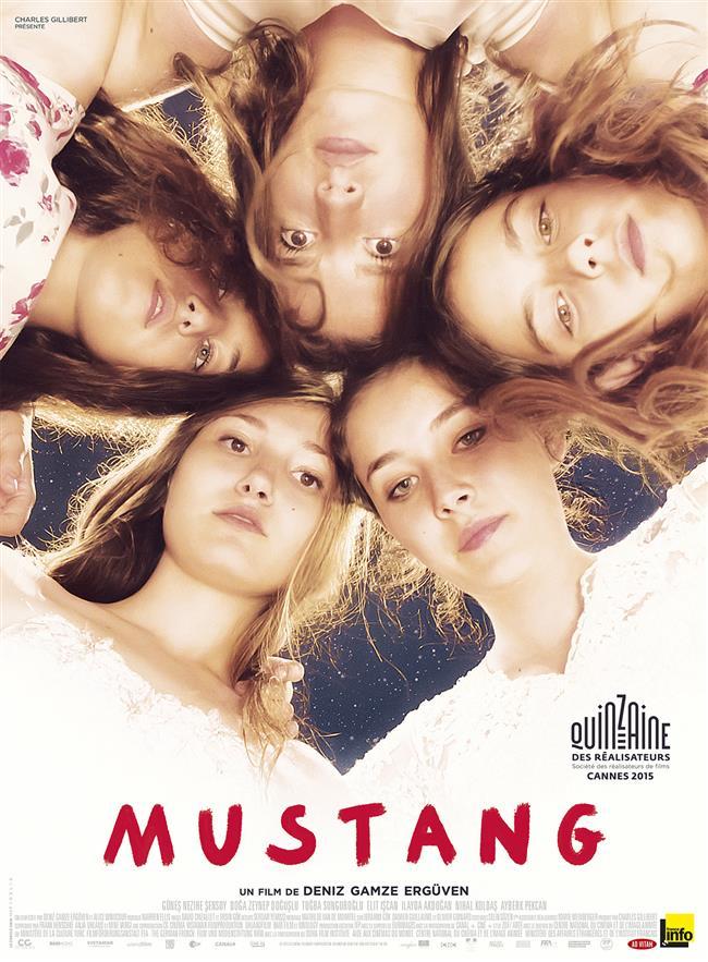 Mustang  İnebolu'da geçen bir hikayeyi ele alan Mustang, beş kız kardeşin özgürlükleri için verdikleri mücadeleye odaklanıyor. Duygularınızın karışmasını engelleyemeyeceksiniz.