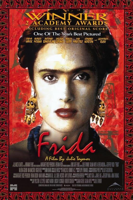 Frida   Frida'yı, sıkıntılarını, acılarını, aşkını, tutku duyduğu sanatını anlatan film kadının ne denli güçlü bir ruha sahip olduğunu gözler önüne seriyor.