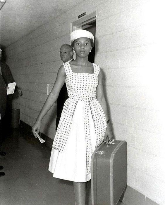 Annie Lumpkins:  Süfrajet olduğu için Little Rock şehrinde hapishaneye giren kadın. (1961)