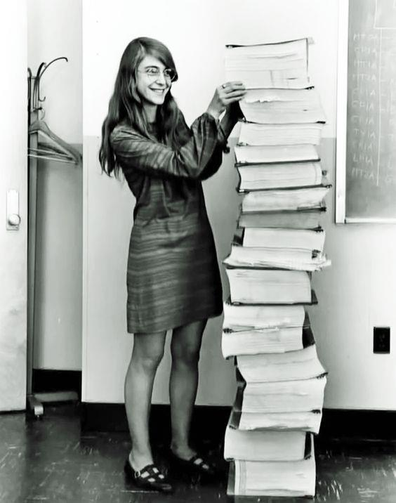Margaret Hamilton:   NASA'nın yazılım mühendisi (1969)
