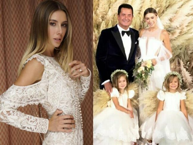 Uzun süredir merakla beklenen Şeyma Subaşı-Acun Ilıcalı düğünü, 18 Eylül'de Fransa'da yapılan nikahla gerçekleşti.  4 FARKLI KIYAFET GİYDİ   19 Eylül'de ise davetli grubunun katılımıyla muhteşem bir düğün yapıldı. Şeyma Subaşı iki gün boyunca 4 farklı kıyafet giydi. İşte Subaşı'nın dört farklı kıyafetinin detayları ve ücretleri...  Kaynak fotoğraflar: Pinterest