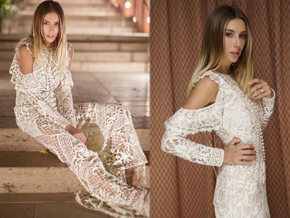 Tasarımcı Subaşı ilk gelinliğinin ardından farklı tarzlarda gelinliklerle de görünmüştü.  Hintli modacı Naeem Khan'ın 2018 İlkbahar-Yaz koleksiyonundan bir elbiseyle davetlilerinin karşısına çıktı.