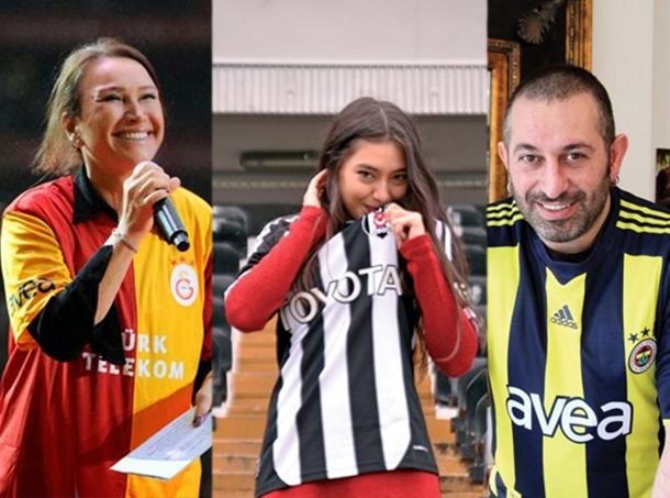 Ünlüler hangi takımları tutuyor? İşte ünlü isimler ve gönül verdikleri takımlar...  Kaynak Fotoğraflar:Instagram