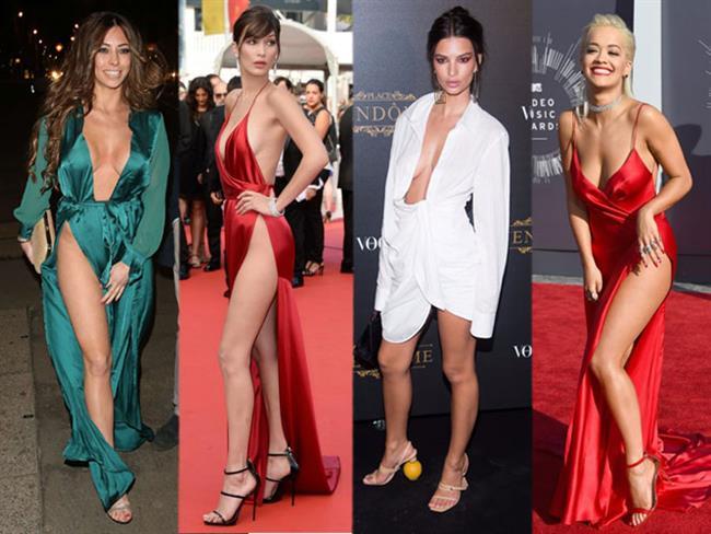 Ünlü isimler katıldıkları davetlerde giydikleri kıyafetlerin cüretkârlığıyla adlarından söz ettiriyor. Herkes kırmızı halıda böyle kıyafetlerle yürüyemez! İşte katıldıkları davetlere cesur stilleriyle damga vuran ünlüler...  Kaynak Fotoğraflar: Pinterest