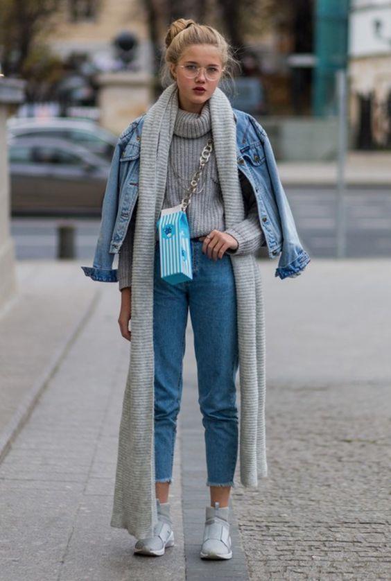 Trend: Açık Renk Yıkanmış Jean Pantolon - 4