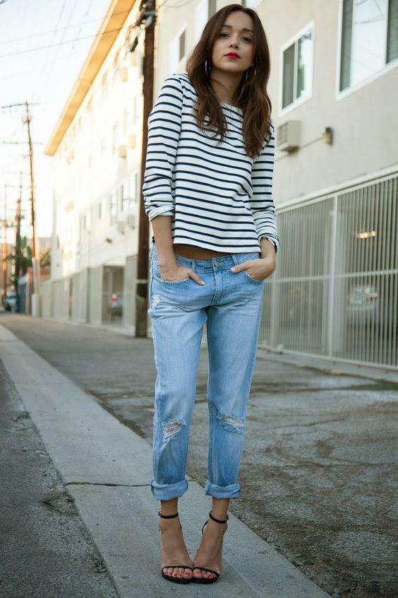 Trend: Açık Renk Yıkanmış Jean Pantolon - 7